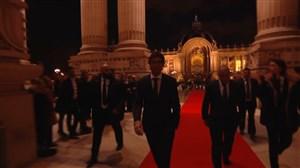 لحظه ورود رائول و مودریچ به مراسم توپ طلا 2018