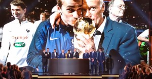 صحبتهای نمایندگان تیم قهرمان جام جهانی 2018 در مراسم توپ طلا