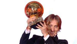 لوکا مودریچ برنده توپ طلا 2018