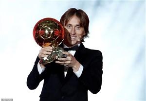 لوکا مودریچ، برنده توپ طلای سال 2018