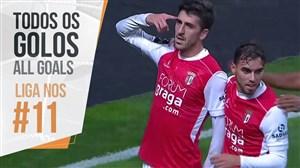 تمام گل های هفته یازدهم لیگ پرتغال 19-2018