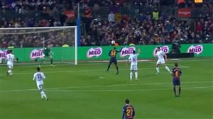 گل سوم بارسلونا به لئونسا (مالکوم)