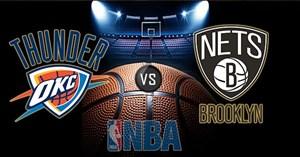 خلاصه بسکتبال اوکلاهاماسیتی - بروکلین نتس