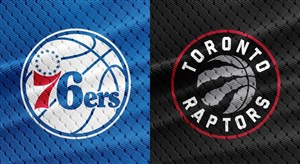خلاصه بسکتبال تورنتو رپترز - فیلادلفیا سیکسرز