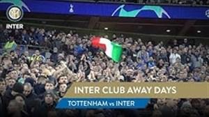 حواشی قبل بازی تاتنهام - اینتر با هواداران پرشور اینتر در لندن