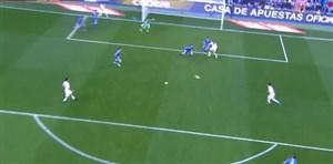 گل دوم رئال مادرید به ملیا (دبلآسنسیو)