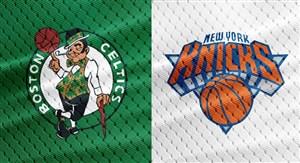خلاصه بسکتبال بوستون سلتیکس - نیویورک نیکس