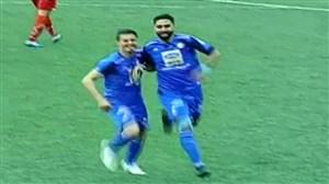 سوپرگل فرشید باقری؛گل اول استقلال به سپیدرود