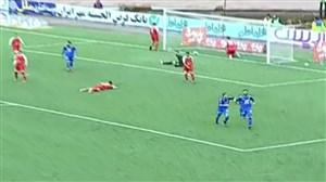 دبل فرشید باقری؛گل دوم استقلال به سپیدرود