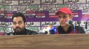 صحبت های یحیی گلمحمدی در مورد تساوی برابر ماشین سازی