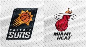 خلاصه بسکتبال فونیکس سانز - میامی هیت