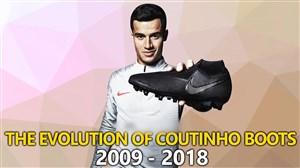 کفشهای کوتینیو از سال 2009 تا 2018