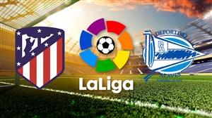 خلاصه بازی اتلتیکو مادرید 3 - آلاوس 0