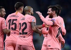 بارسلونا در آستانه برابری با رکورد بایرن در چمپیونزلیگ