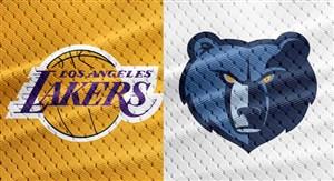 خلاصه بسکتبال لس آنجلس لیکرز - ممفیس گریزلیز