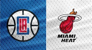 خلاصه بسکتبال میامی هیت - لس آنجلس کلیپرز