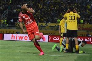 گل های بازی خاطره انگیز سپاهان 1 - پرسپولیس 3