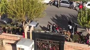 حضور هواداران پرسپولیس و تشویق این تیم قبل بازی با سپاهان