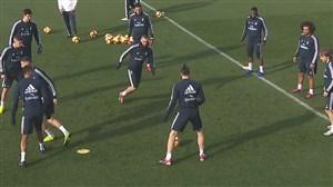 آخرین تمرین رئال مادرید قبل از رویارویی با اوئسکا