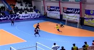 خلاصه فوتسال فرش آرا 8 - شهرداری ساوه 3