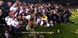 مراسم اهدای جام قهرمانی لیبرتادورس 2018
