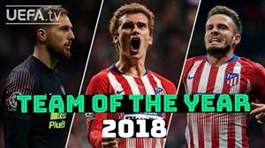 بهترین بازیکنان اتلتیکو از نگاه هواداران در سال 19-2018