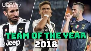 بهترین بازیکنان یوونتوس از نگاه هواداران در سال 2018