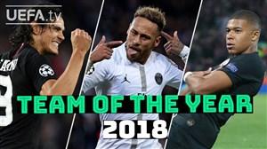 بهترین بازیکنان پاری سن ژرمن از نگاه هواداران  در سال 2018