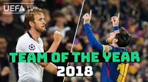 مسی و هری کین دو گلزن برتر لیگ قهرمانان اروپا 19-2018