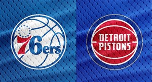 خلاصهبسکتبال فیلادلفیا - دیترویت پیستونز