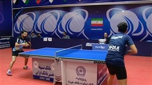 برگزاری مسابقات لیگ برتر پینگ پونگ با شرایطجدید