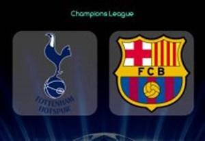 خلاصه بازی بارسلونا 1 - تاتنهام 1