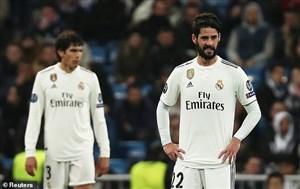 شکست های تحقیر آمیز رئال مادرید در سال 2018