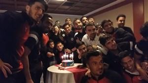 تولد امیرحسین ؛ فرزند یحیی گلمحمدی در اردوی پدیده در تهران