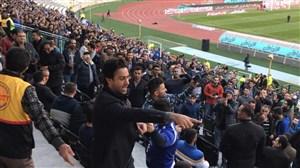 مجیدی وارد استادیوم آزادی شد