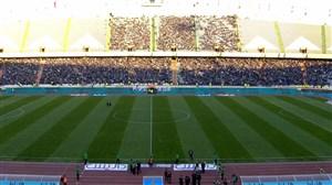 حال و هوای ورزشگاه آزادی پیش از بازی استقلال-پدیده