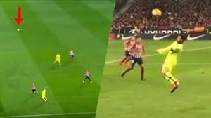کنترل توپهای تماشایی در جهان فوتبال