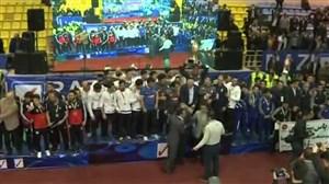 مراسم اهدای جام قهرمانی بیمه رازی (جامباشگاههایجهان)