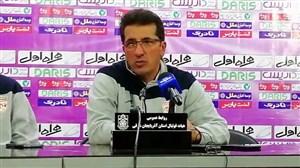 کنفرانس خبری تقوی پس از شکست برابر فولادخوزستان