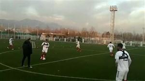 تمرین عصر ملی پوشان در زمین شماره دو مرکز فوتبال
