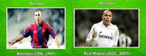 فوتبالیست هایی که در تیم رقیب هم بازی کردند