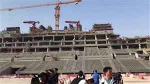 تصاویر اختصاصی از آماده سازی ورزشگاه 80 هزارنفری جام جهانی در قطر