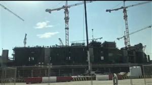 نمای بیرونی سازه عظیم ورزشگاه بین المللی جام جهانی در دوحه