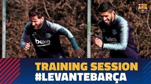تمرین امروز تیم بارسلونا (24-09-97)