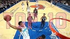 10 حرکت برتر هفته بسکتبال NBA