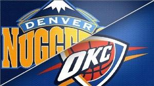 خلاصه بسکتبال اوکلاهاماسیتی - دنور ناگتس
