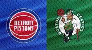خلاصه بسکتبال بوستون سلتیکس - دیترویت پیستونز