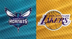 خلاصه بسکتبال لس آنجلس لیکرز - شارلوت هورنتس