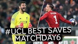 سیو های برتر هفته ششم لیگ قهرمانان اروپا فصل 19-2018
