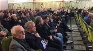 مراسم بزرگداشت زندهیاد دانایی فرد با حضور بزرگان فوتبال